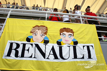 Jarno Trulli and Fernando Alonso fanclub