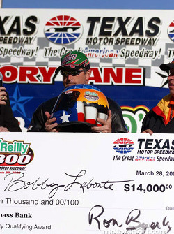 Pole winner Bobby Labonte