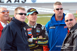 Jeff Burton, Jamie McMurray and Todd Bodine