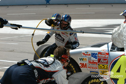Jimmie Johnson in the pits