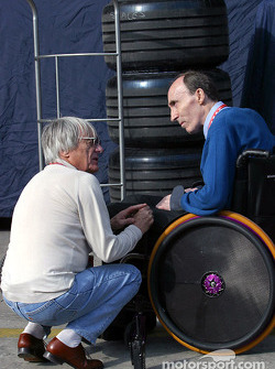 Bernie Ecclestone and Frank Williams