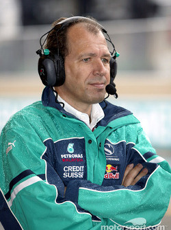 Sauber team member