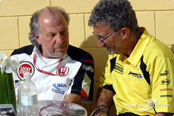 David Richards and Eddie Jordan