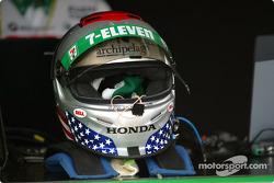 Michael Andretti's helmet