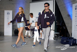 BMW WilliamsF1 Fashion Show in Barcelona: presentation