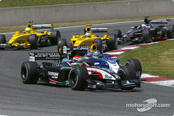 Justin Wilson and Nick Heidfeld