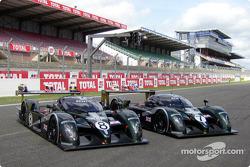 The two Bentley Speed 8 of Team Bentley