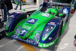#17 Pescarolo Sport Courage C60-Peugeot