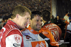 Tony Stewart and Bill Elliott