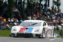 Thousands of fans were on hand for the inaugural Barber 250 at The Park, where the Brumos Racing #59 Porsche Daytona Prototype finished second after being passed on the final lap of the race