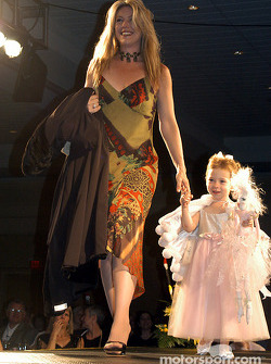 Kathy George and daughter Olivia