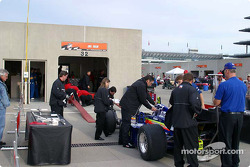 Line-up for technical inspection