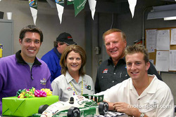 A.J. Foyt IV celebrates 19th birthday with A.J. Foyt, Larry Foyt, family and friends