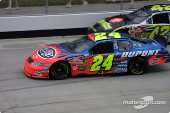 Jeff Gordon and Jamie McMurray