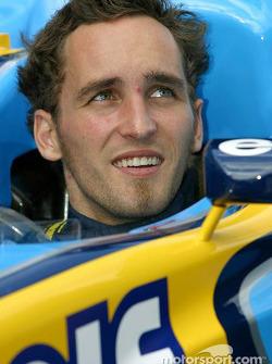 Renault F1 test driver Franck Montagny