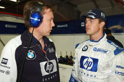 Sam Michael and Ralf Schumacher