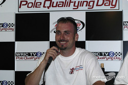 Dave Steele, pole winner