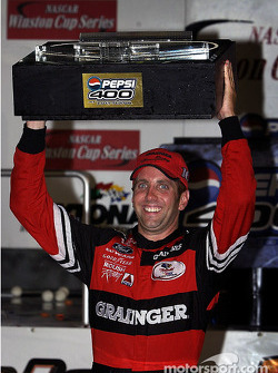 Race winner Greg Biffle