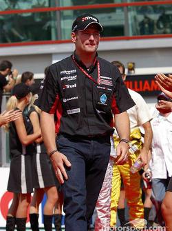 Drivers parade: Jos Verstappen