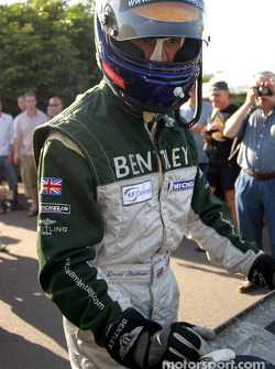 David Brabham with Bentley