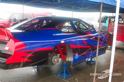 New paint job for A.J. Alsup's car