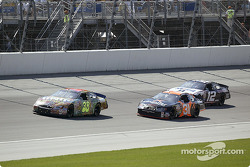 Elliott Sadler, Robby Gordon and Ryan Newman