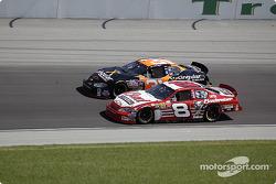 Dale Earnhardt Jr. and Robby Gordon