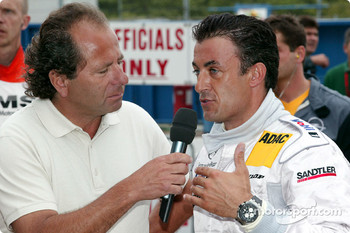 Klaus Ludwig and Jean Alesi