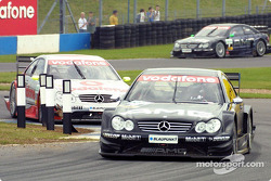 Jean Alesi and Bernd Schneider