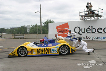 #56 Team Bucknum Racing Pilbeam MP91 / Willman 6: Jeff Bucknum, Bryan Willman, Chris McMurry back on the track