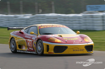 #28 JMB Racing USA / Team Ferrari Ferrari 360 Modena: Stephan Gregoire, Eliseo Salazar