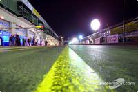 DTM Fotos - Boxengasse bei Nacht