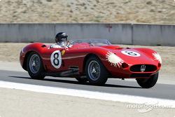 #8 1957 Maserati 450S driven by Bruce McCaw