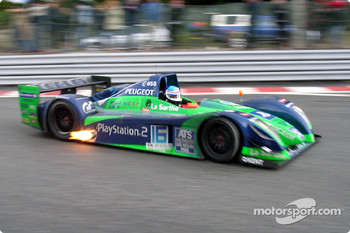 Pescarolo Sport Courage C60-Peugeot: Franck Lagorce, Stephane Sarrazin
