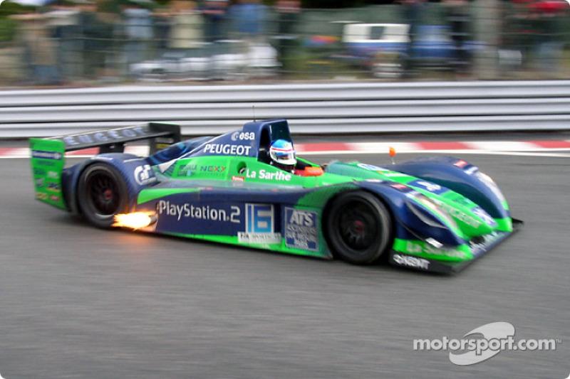 Pescarolo Sport Courage C60-Peugeot: Franck Lagorce, Stephane Sarrazin