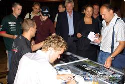 Autograph session in Palais Ferstel, Vienna: Marcel Fassler