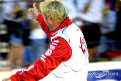 Thumbs up for Sterling Marlin