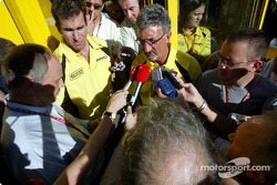 Ralph Firman and Eddie Jordan announce driver change for Italian GP