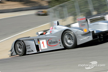 #1 Infineon Team Joest Audi R8: Frank Biela, Marco Werner