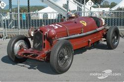 Alfa Romeo Monza Tail