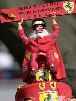Michael Schumacher 2003 World Champion hat
