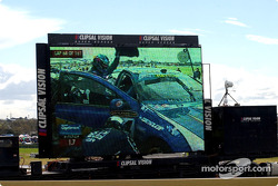 Fans get to see the in car action of the Ambrose/Ingall pit stop