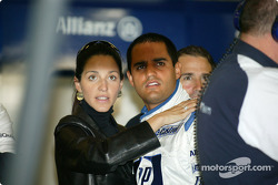 Juan Pablo Montoya with Connie