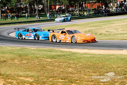 #40 Derhaag Motorsports Corvette: Simon Gregg, Kenny Wilden, and #48 Heritage Motorsports Mustang: Tommy Riggins, David Machavern