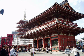 Sunday at Senso-ji Temple