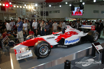 The Toyota TF103