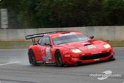 #88 Prodrive Ferrari 550 Maranello: Tomas Enge, Peter Kox, Alain Menu