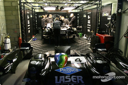 Lister Racing pit area