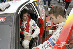Carlos Sainz and Sébastien Loeb