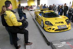 Toni Seiler watches the #66 Konrad Motorsport car